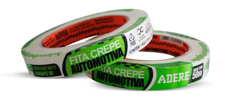 Fita Adesiva 18x50mm Verde 1un - Adere