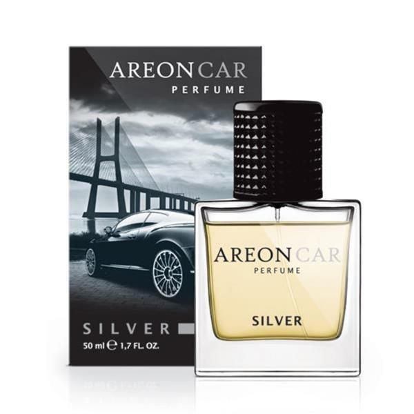 Areon For Car (Perfume Longo) Silver 50ml - Areon