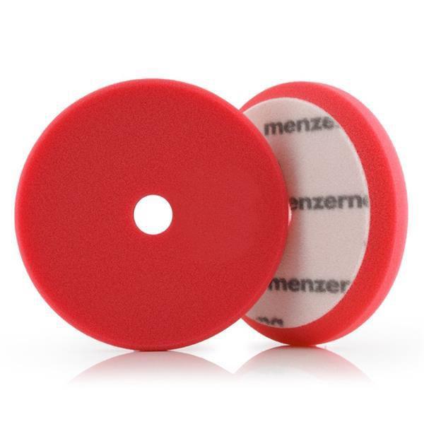 "Boina de Espuma Vermelha - Corte - Heavy Cut Foam Pad 5,5"" - Menzerna"