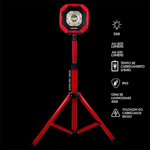 Holofote 25w Flex Detail - Yes Tools