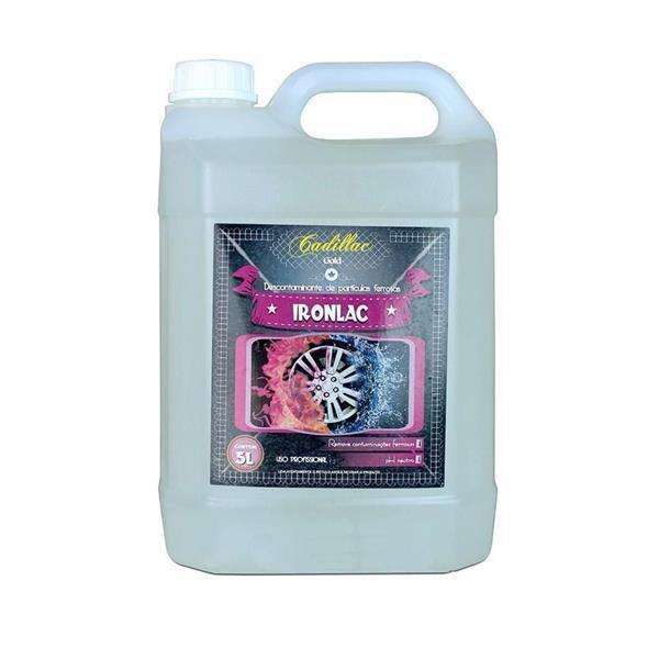 Ironlac - Descontaminante de Partículas Ferrosas 5L - Cadillac