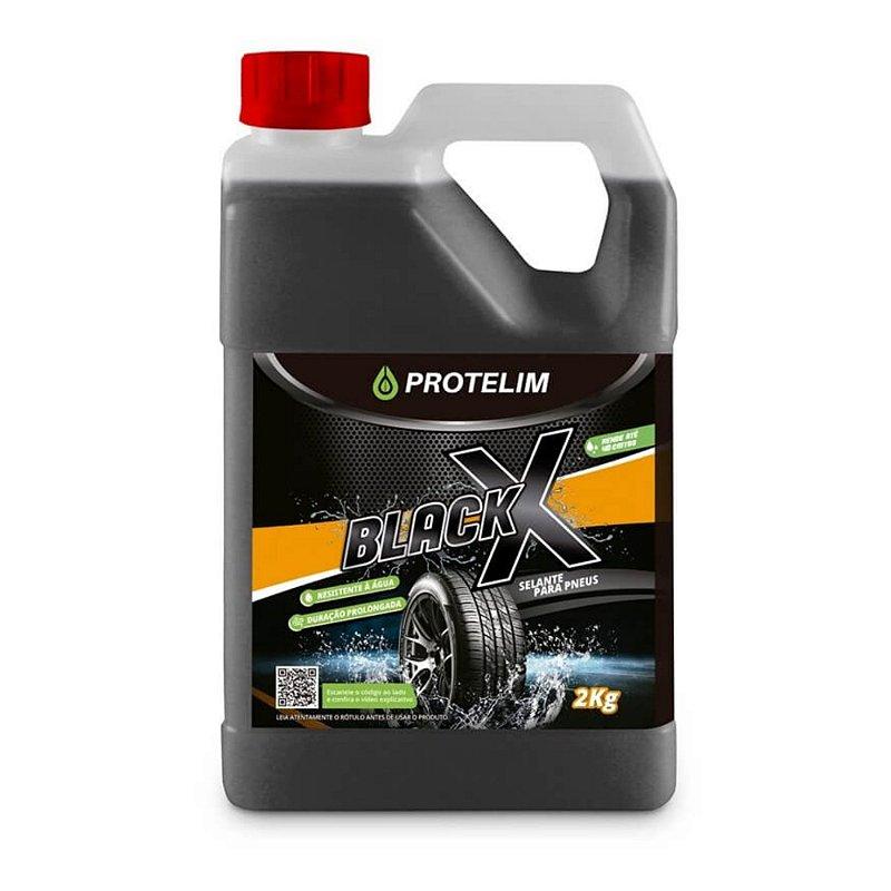 Black X Selante p/ Pneus 2Kg - Protelim