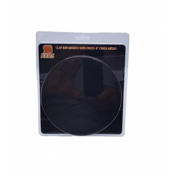 Clay Bar Disco (Remove Pulverizações de Tinta) -  Kers