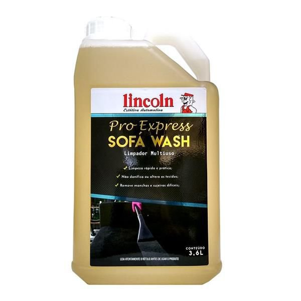 Sofa Wash - Limpador Multiuso 3,6L - Lincoln