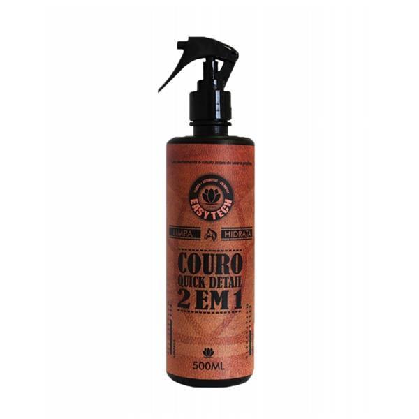 Limpa e Hidrata Couro - 2 em 1 Quick Detail 500ml - Easytech