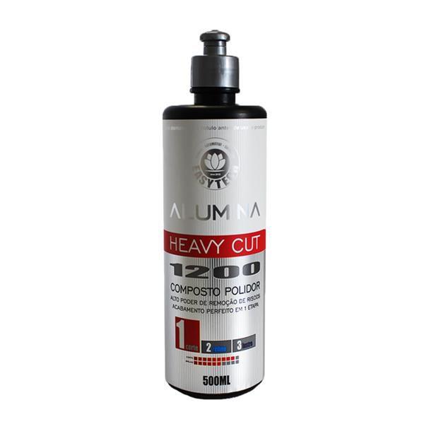 Alumina Heavy Cut 1200 Polidor Corte Pesado 500ml - Easytech