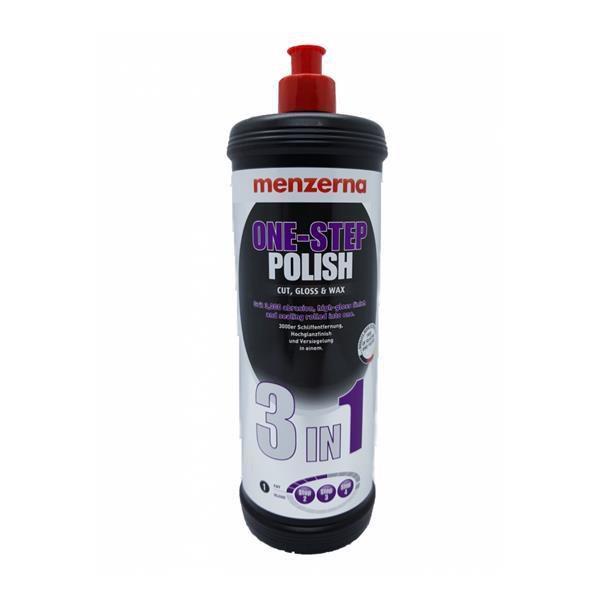 One Step Polish 3 Em 1 - Lustro e Cera 250ml - Menzerna