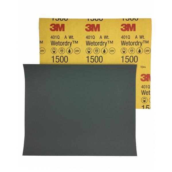 Lixa D´Água 1500 - P/ Polimento 401Q Grão - 3M