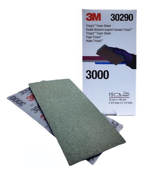 Folha Abrasiva Trizact 3000 - 3M