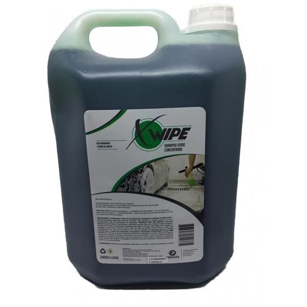 Shampoo Concentrado Verde 5L - XWIPE Primata