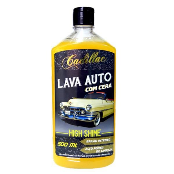 Lava Auto C/ Cera - High Shine 500ml - Cadillac