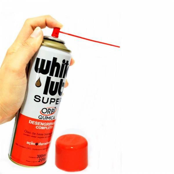 White Lub - Desengripante Completo 300ml - Orbi Química