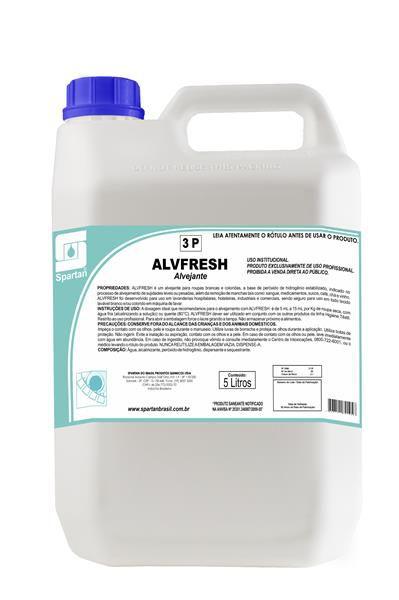 Alvfresh - Alvejante Tecido e Estofados 5L - Spartan