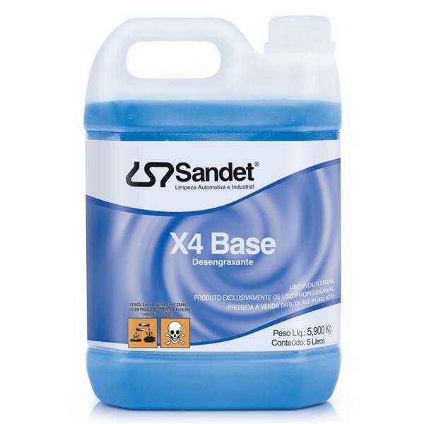 Desengraxante X4 Base 5L - Sandet