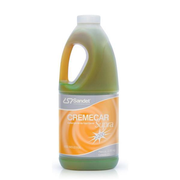 Detergente Cremecar Supra 2L - Sandet