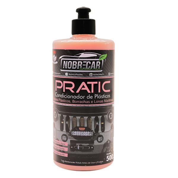 Pratic - Condicionador de Plásticos 500ml - Nobrecar