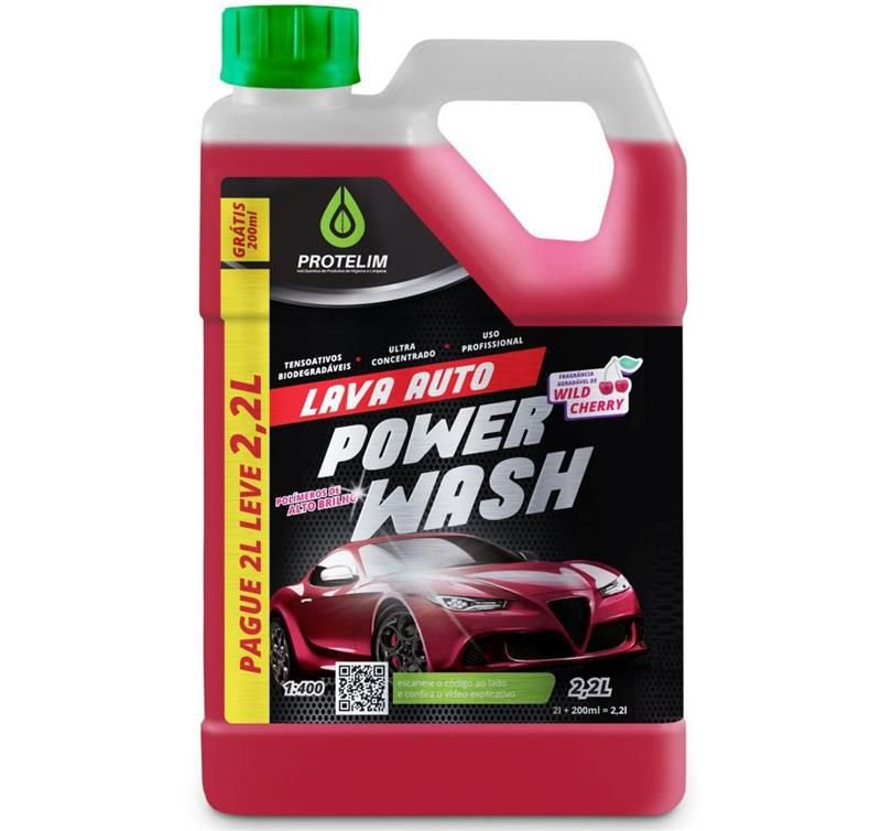 Lava Auto Power Wash 4L - Protelim