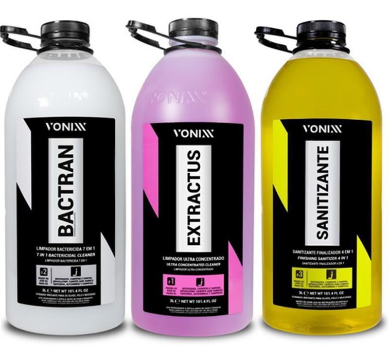 Bactran, Extractus, Sanitizante 3L (Sistema VSC) - Vonixx