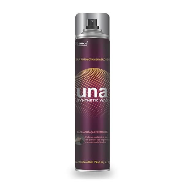 Una Synthetic Wax - Cera Aerosol 400ml - Alcance