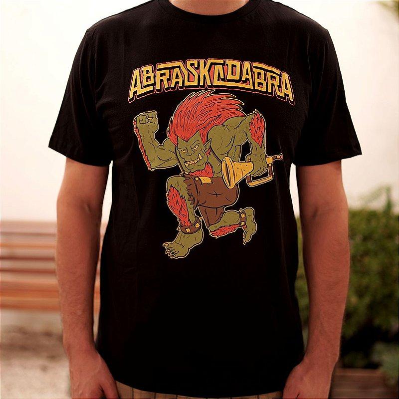 Camiseta Blanka Skanking Preta
