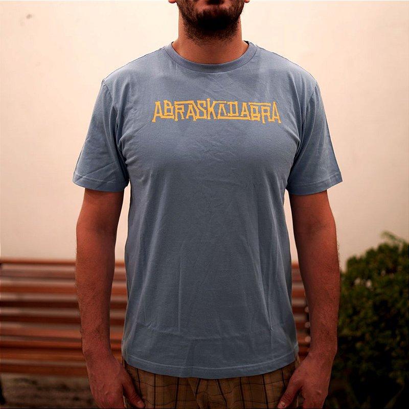 Camiseta ABRASKADABRA Bones Azul