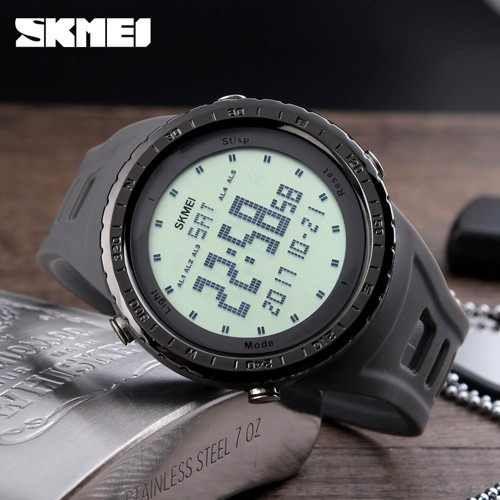 7a5fde3534 Relógio Esportivo marca SKMEI estilo militar - Digital e 50M à prova d'água
