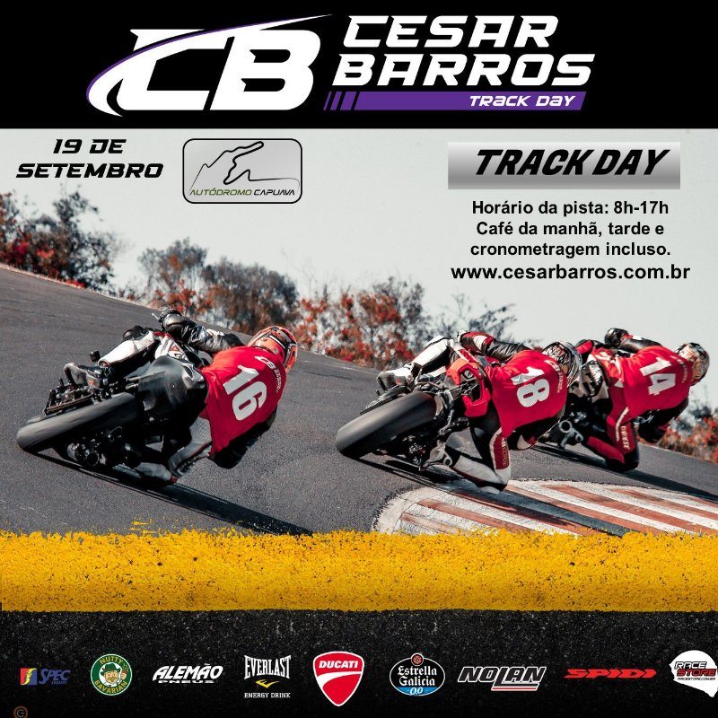 CLÍNICA  / TRACK DAY (CAPUAVA) - 19 DE SETEMBRO 2021