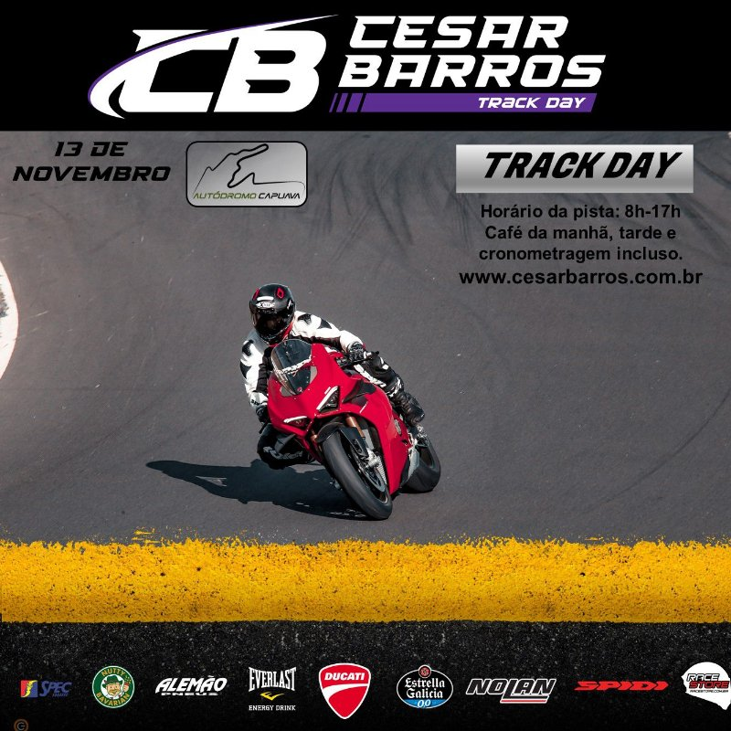 CLÍNICA  / TRACK DAY (CAPUAVA) - 13 DE NOVEMBRO 2021
