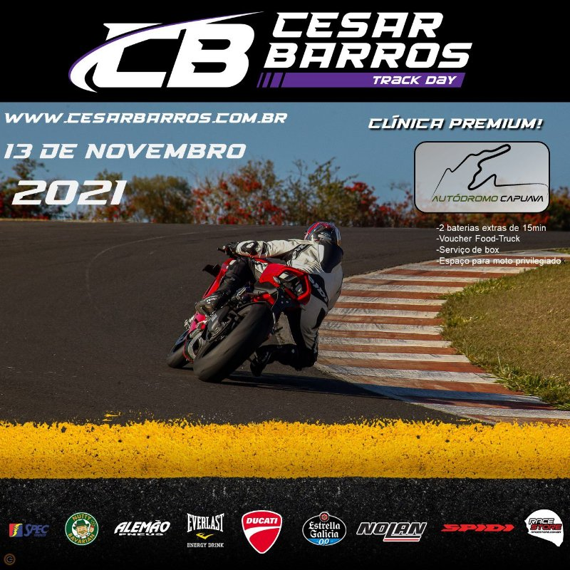 CLÍNICA PREMIUM/TRACK DAY (CAPUAVA) - 13 DE NOVEMBRO 2021