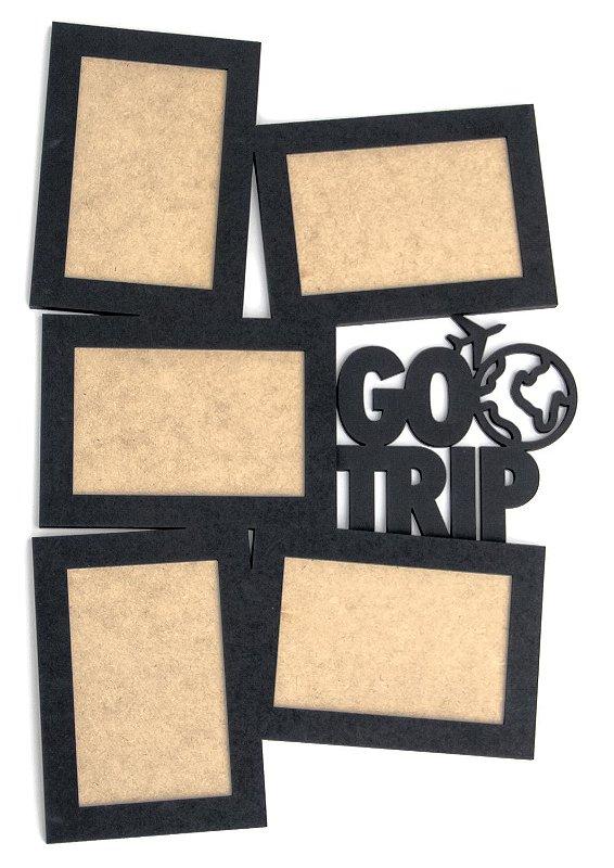 Porta Retratos Go Trip - 05 Fotos