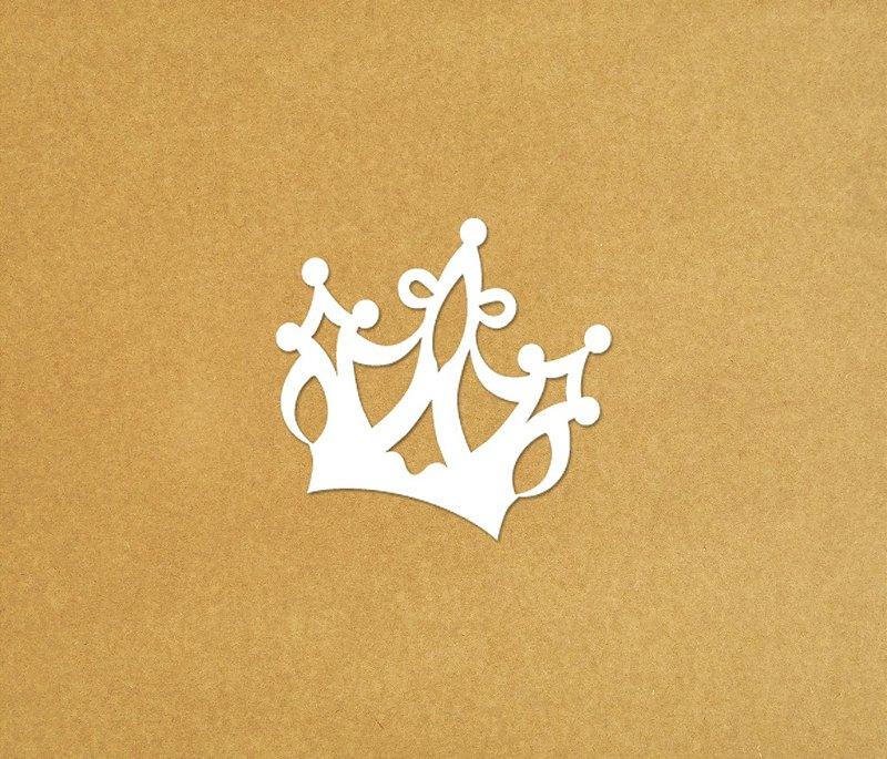 Coroa Unitária Corte MDF Cru/Pintado