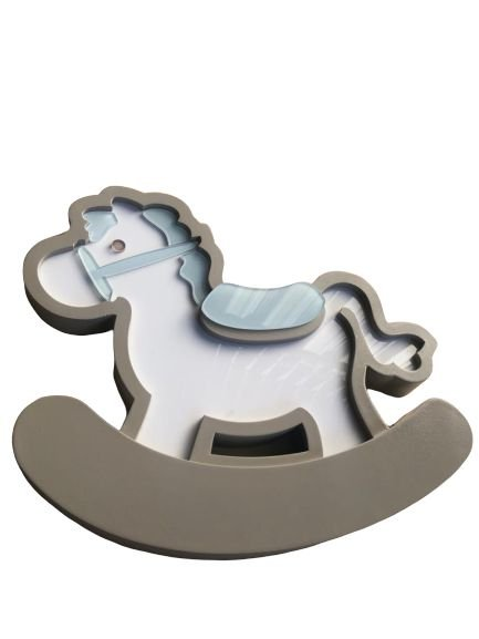 Luminoso Cavalinho de Pau / Luminária de Mesa