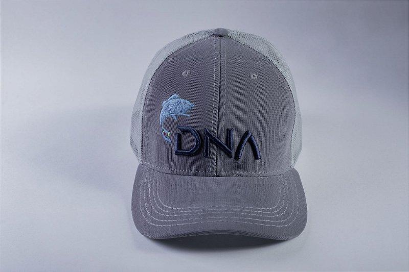 Boné DNA DO PESCADOR CINZA