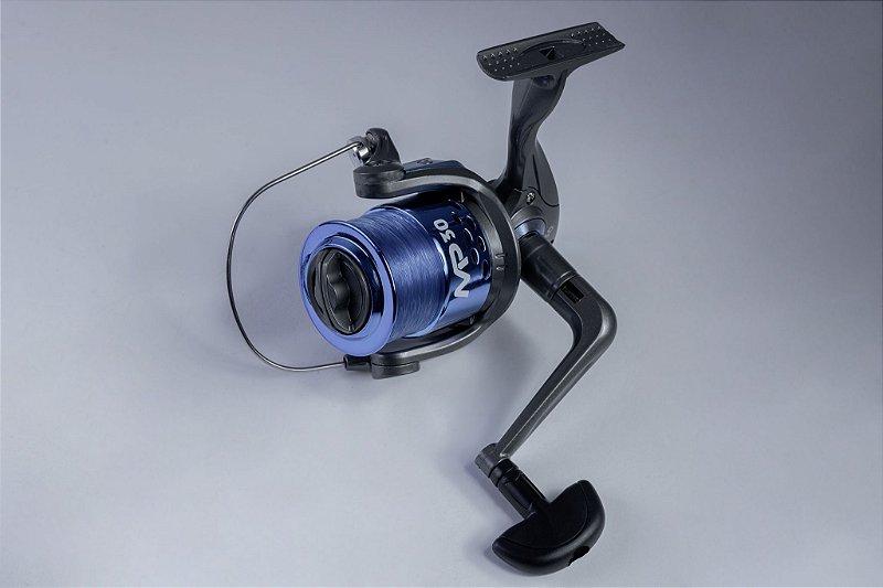 MOLINETE ALBATROZ FISHING MP 30 C/ LINHA  3 rolamentos
