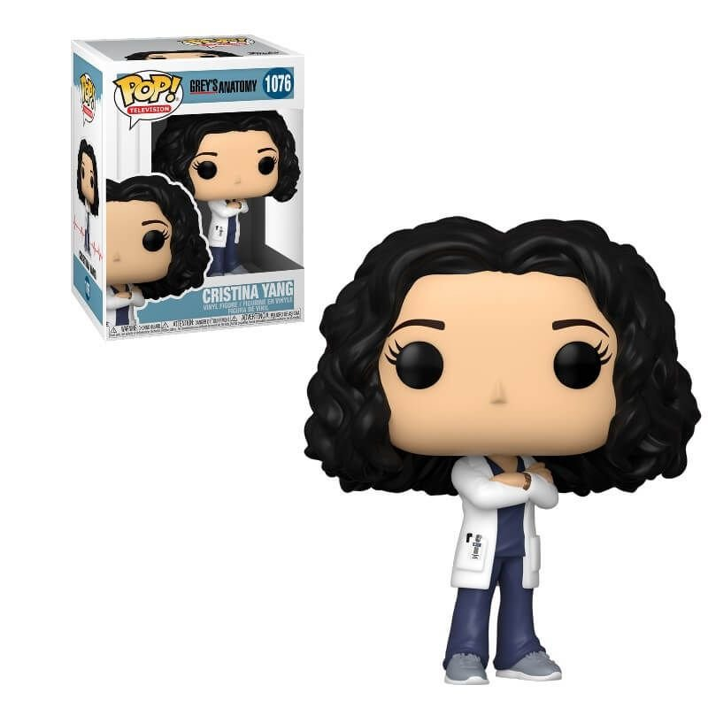 Pop Grey S Anatomy Funko Pop Cristina Yang 1076 Make Up
