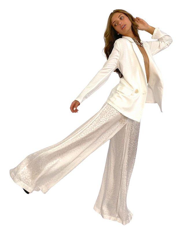Calça pantalona com bolso Caos - TAM 42
