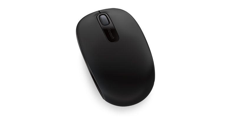 Microsoft Mouse Óptico 1850 Sem Fio U7Z - 00008 Preto