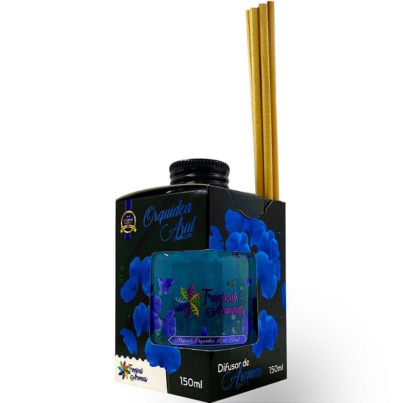 Difusor Caixinha Black Orquídea 150ml - Tropical Aromas