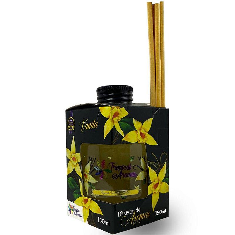 Difusor Caixinha Black Vanilla 150ml - Tropical Aromas