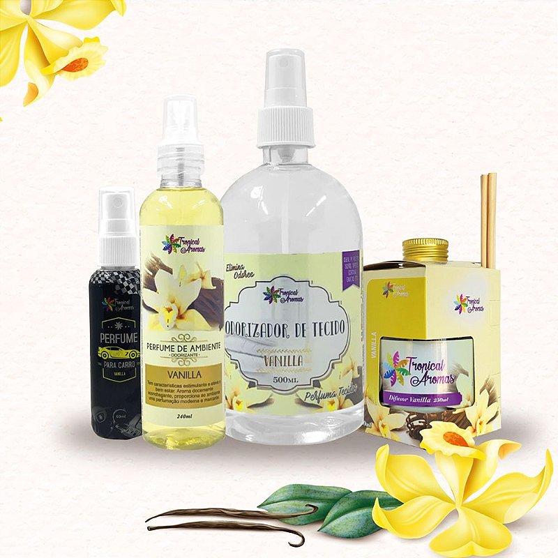 Kit Aromas Vanilla - Tropical Aromas