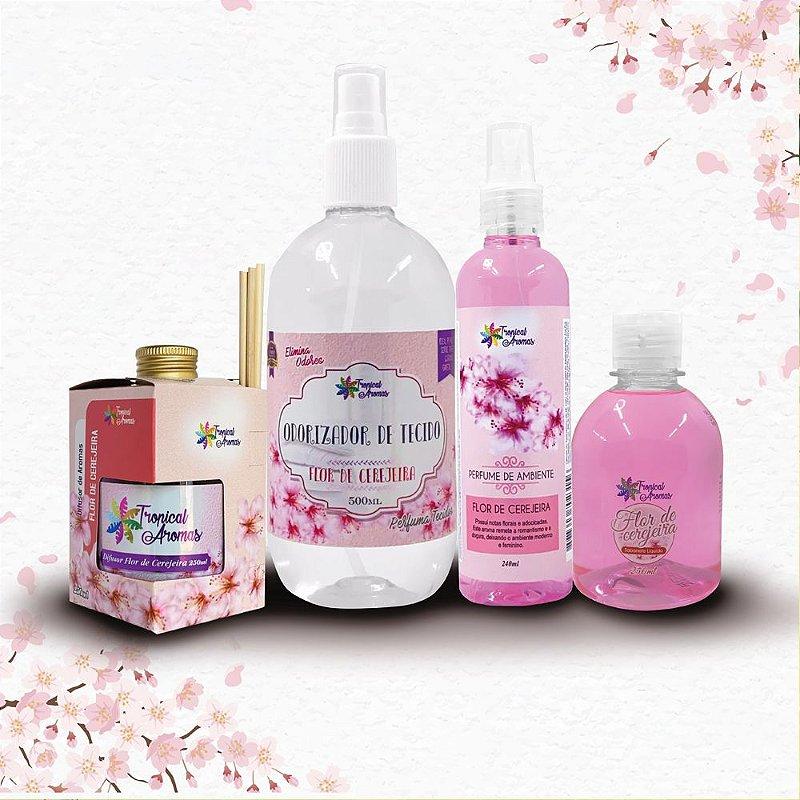 Kit Aromas Flor de Cerejeira - Tropical Aromas