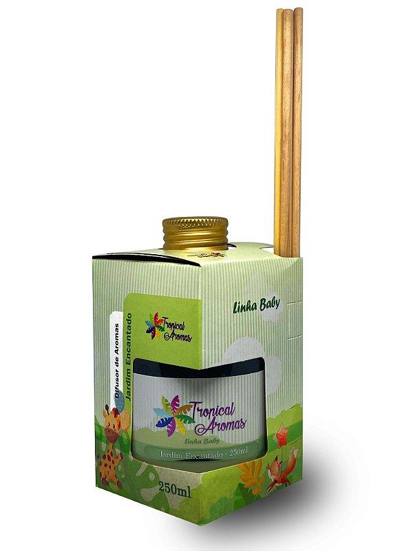 Difusor Linha  Baby Jardim Encantado. 250ml - Tropical Aromas