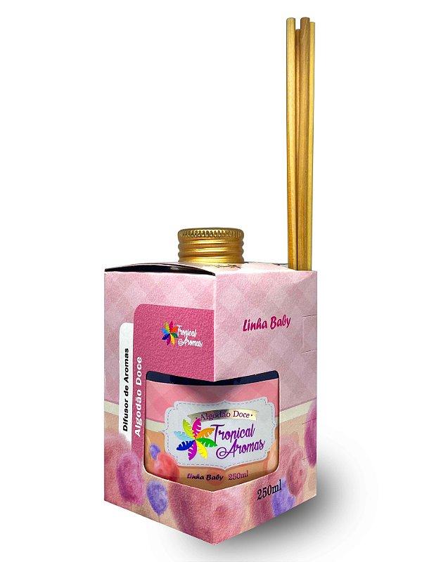Difusor Linha  Baby Algodão Doce 250ml - Tropical Aromas