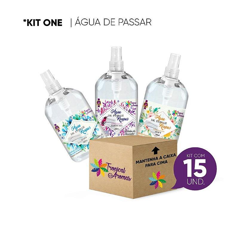 Água de Passar KIT REVENDA 15 Unidades - Tropical Aromas