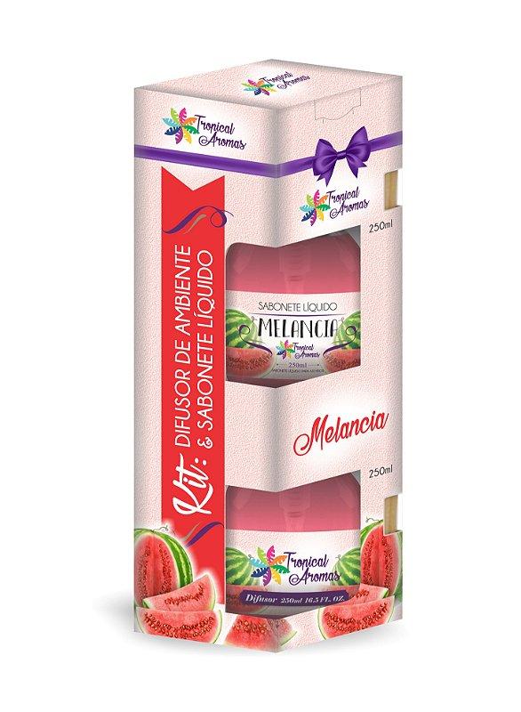 Kit difusor e sabonete líquido com Válvula- Melancia 250ml
