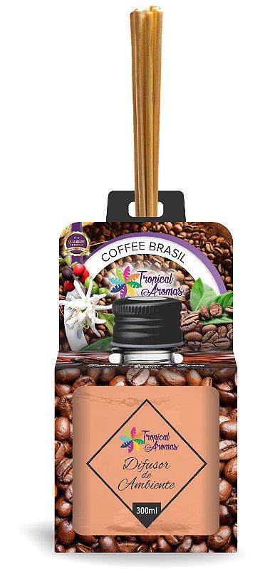 Difusor Aromas do Brasil Coffee Brasil 300ml - Tropical Aromas