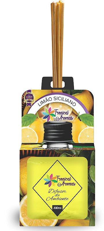 Difusor Aromas do Brasil Limão Siciliano 300ml - Tropical Aromas