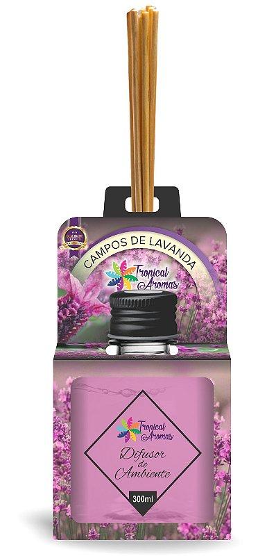 Difusor Aromas do Brasil Campos de Lavanda 300ml