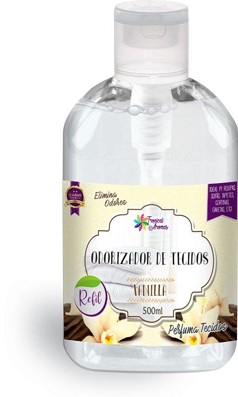 Refil Odorizador de Tecidos Vanilla 500ml - Tropical Aromas