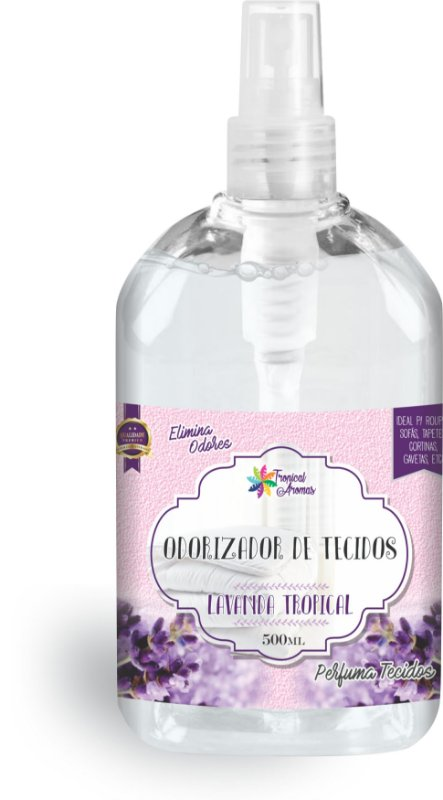 Odorizador de Tecidos Spray Tropical Aromas – Lavanda 500ml